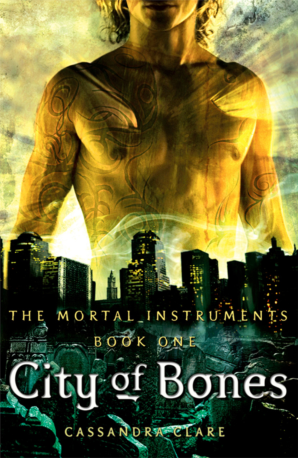 Original cover gives Jace the golden boy look.
