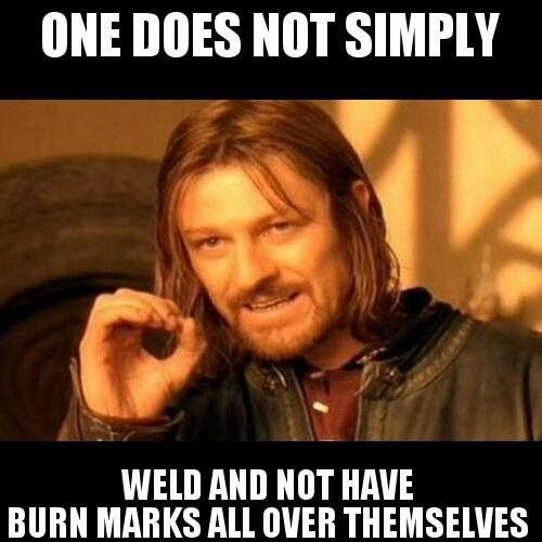 getting burned