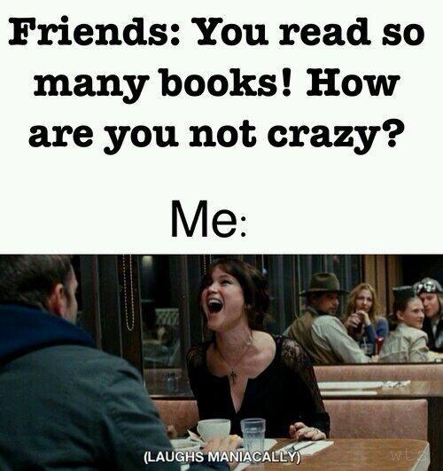 Reading books meme